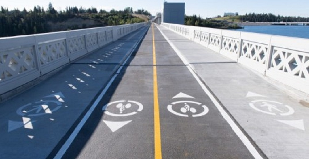The Glenmore Dam pathway reopened following three years of construction
