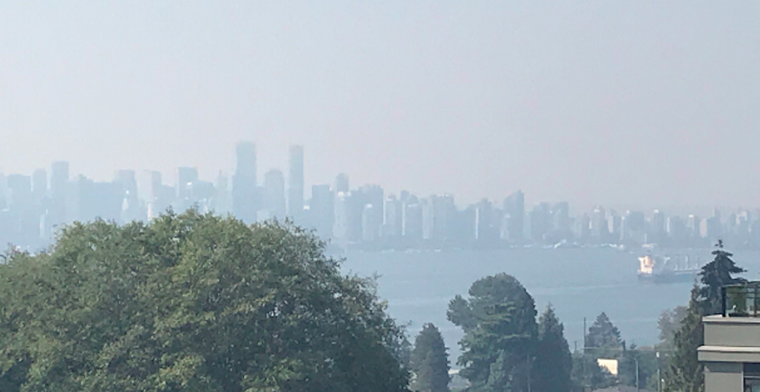 Air quality advisory remains in place over Metro Vancouver
