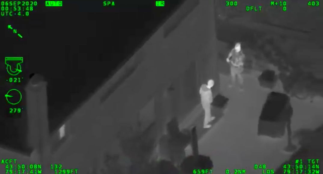 Markham man faces criminal charges after pointing laser at police helicopter
