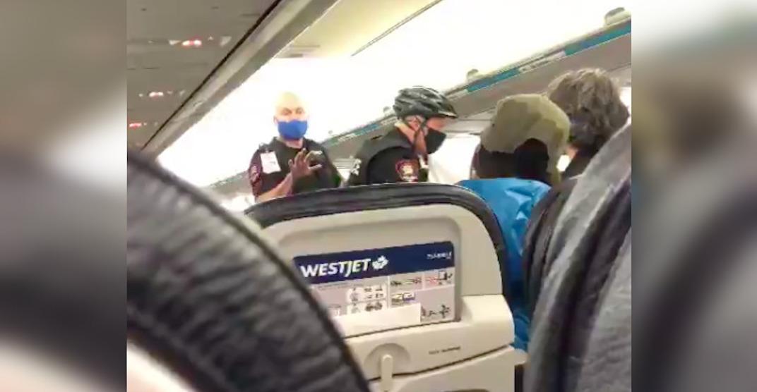 WestJet cancels flight after family refuses to put mask on toddler