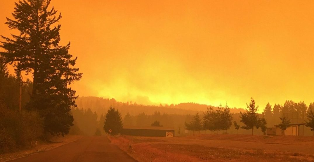 "Lincoln City and Estacada area raised to ""Leave NOW!"" evacuation order"