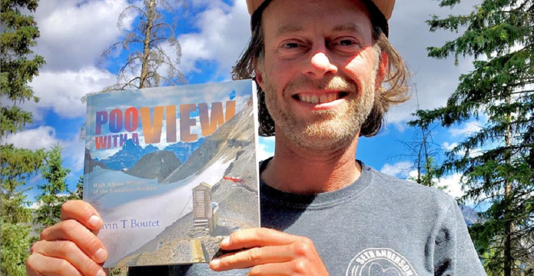Alberta man publishes book highlighting the best outhouses in the Rockies