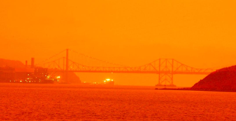 San Francisco looks like Mars as US wildfires rage (PHOTOS)