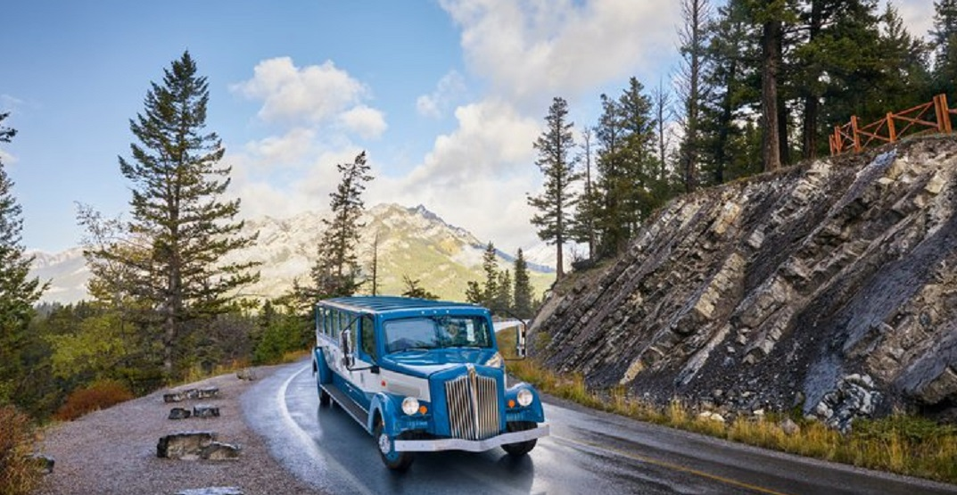 Cruise through Banff in style with new Open Top Touring experience