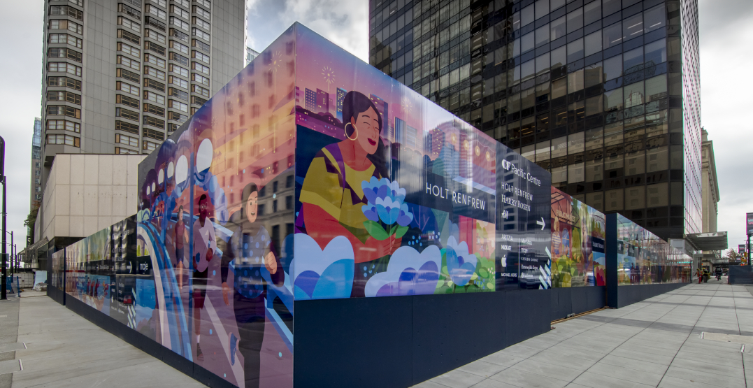 Local artist transforms Vancouver landmark with new mural (PHOTOS)