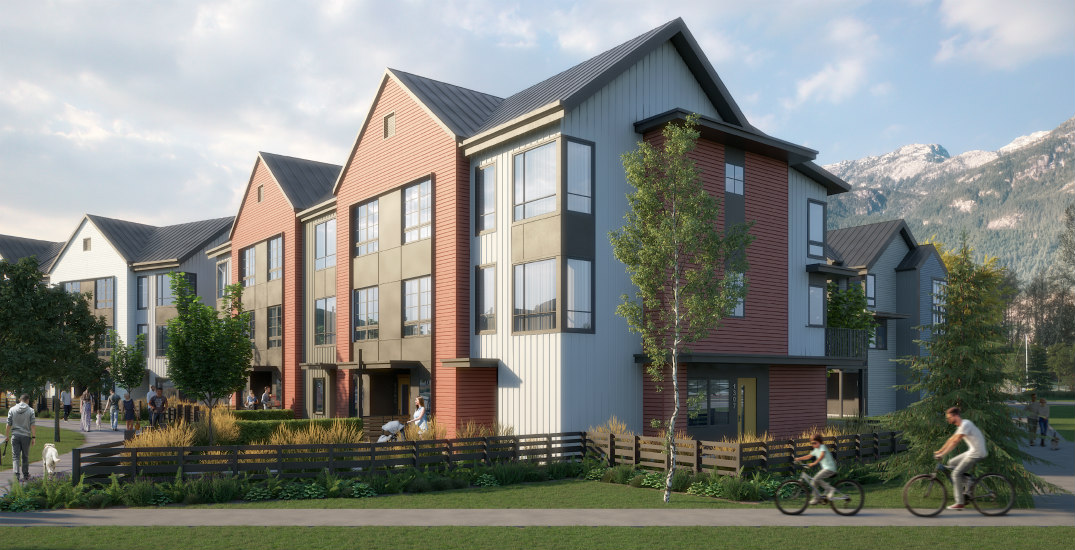 New Squamish townhomes offer idyllic alternative for Metro Vancouverites