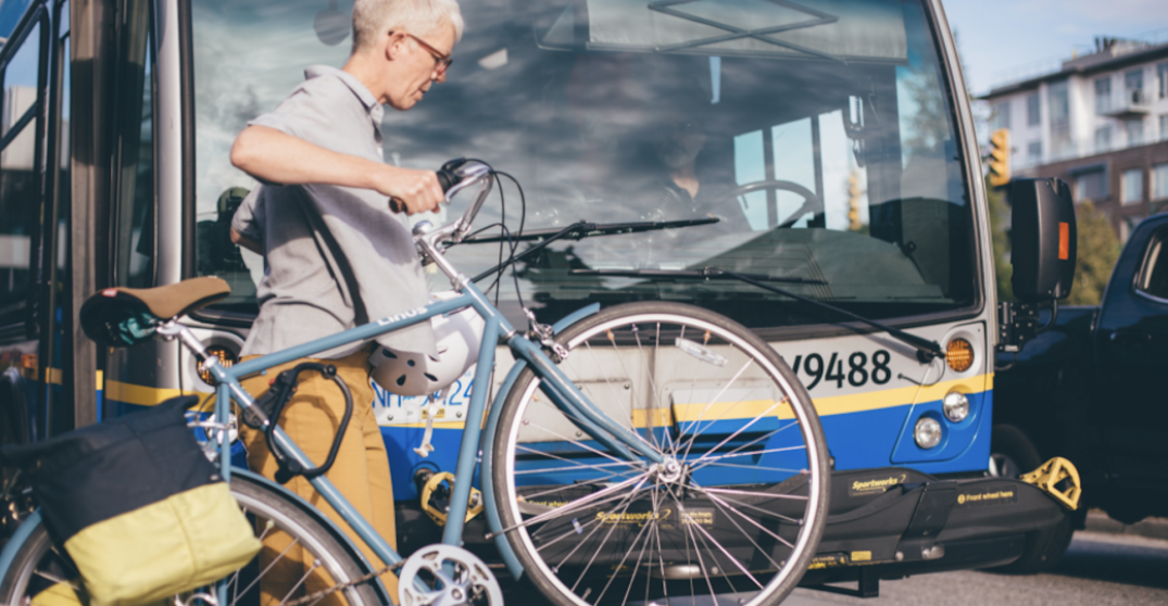 """HUB Cycling is encouraging Vancouverites to """"bike to transit"""" this month"""