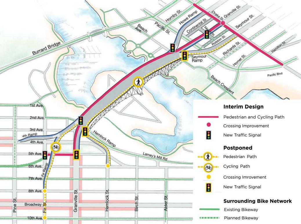 granville bridge connector september 2020 interim design