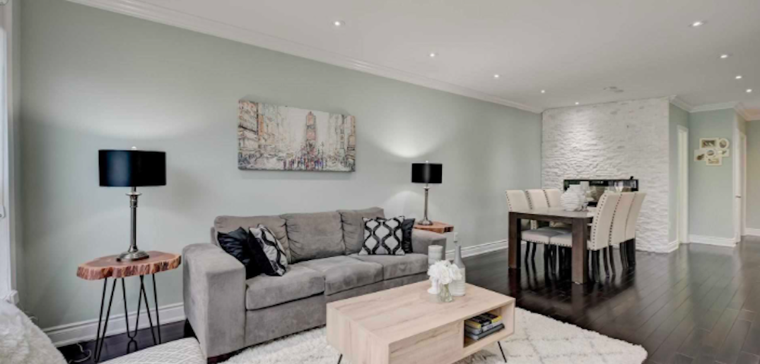 A three-bedroom Toronto home is selling for under $700K