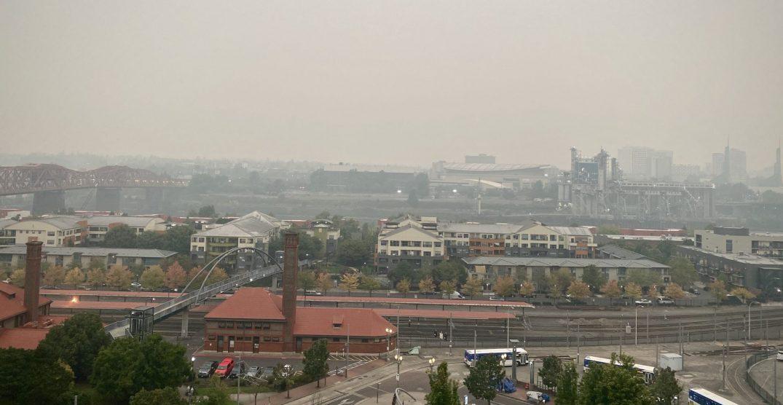 """Portland parks, businesses close due to """"hazardous"""" air quality"""
