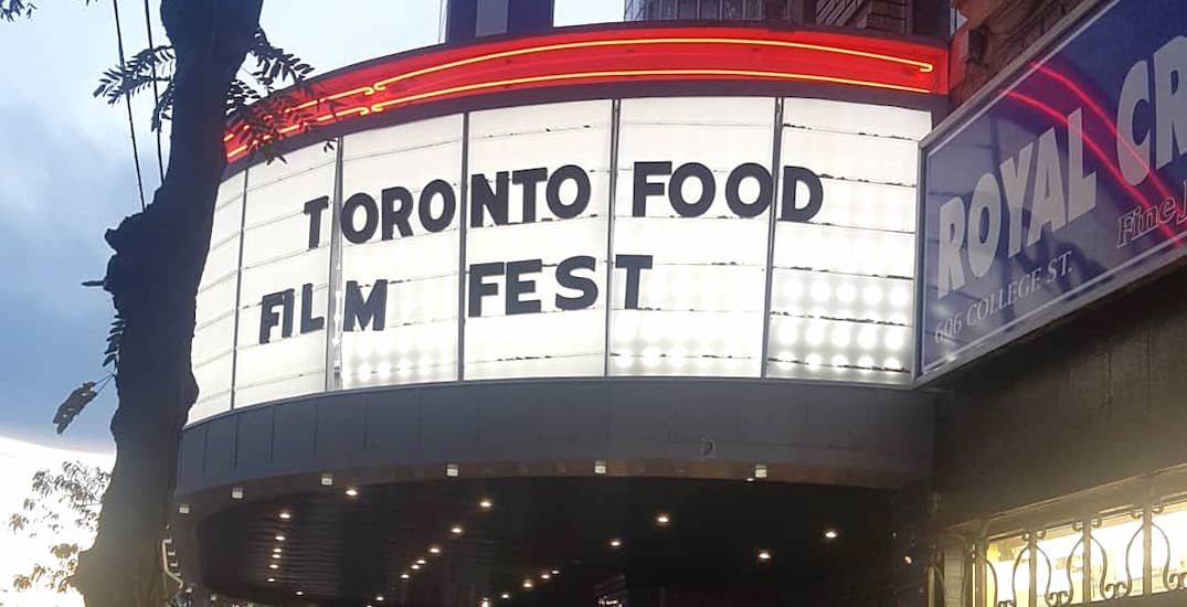The Toronto Food Film Fest is coming to the city next month