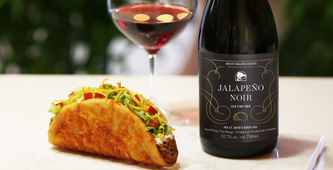 Taco Bell Canada launching Jalapeño Noir Wine to celebrate fan favourite
