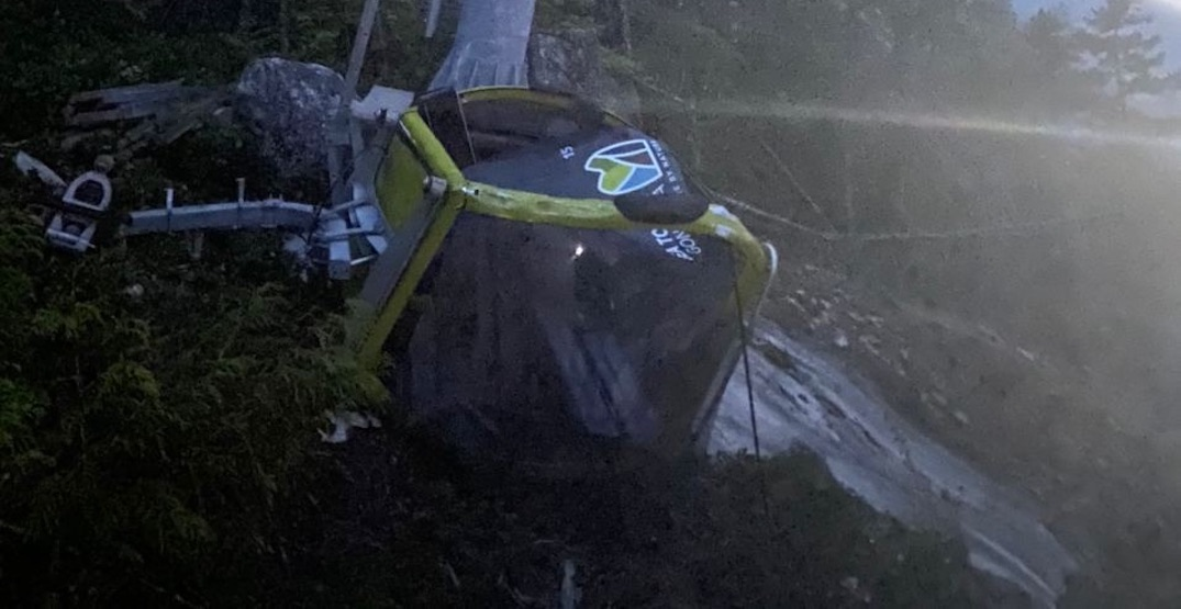 Sea to Sky Gondola collapses again, after cable cut for the second time