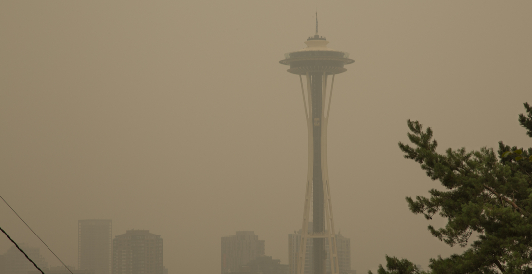 Seattle has one of the worst air qualities in the world right now