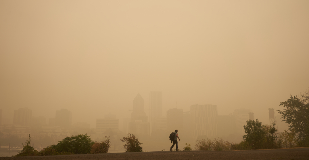Portland has the worst air quality in the world right now