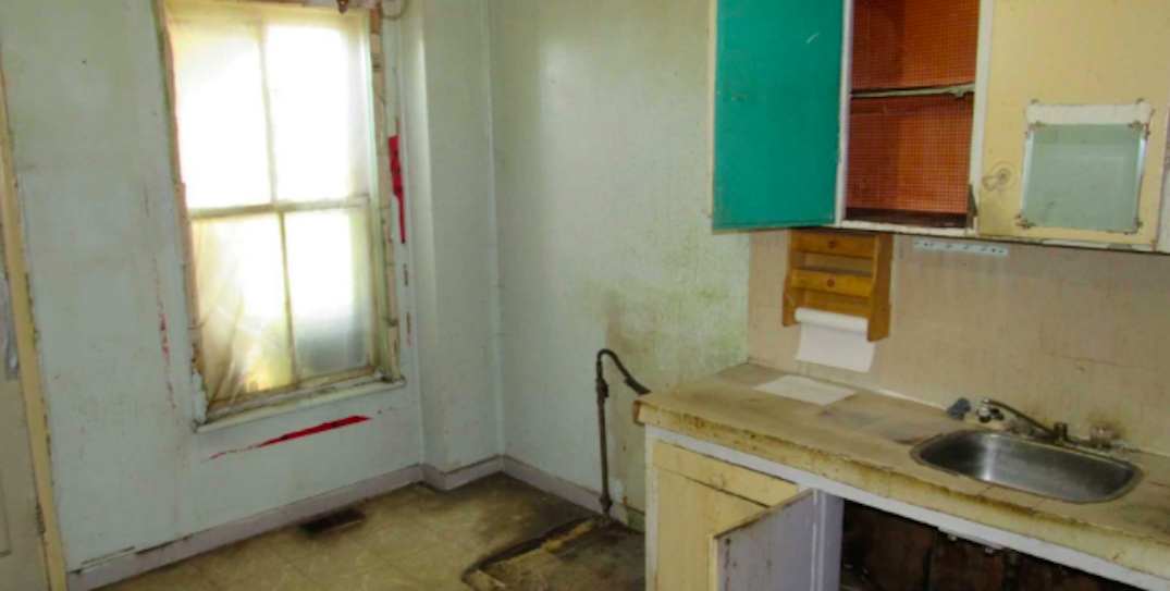 A fixer-upper home in Toronto is selling for under $900K