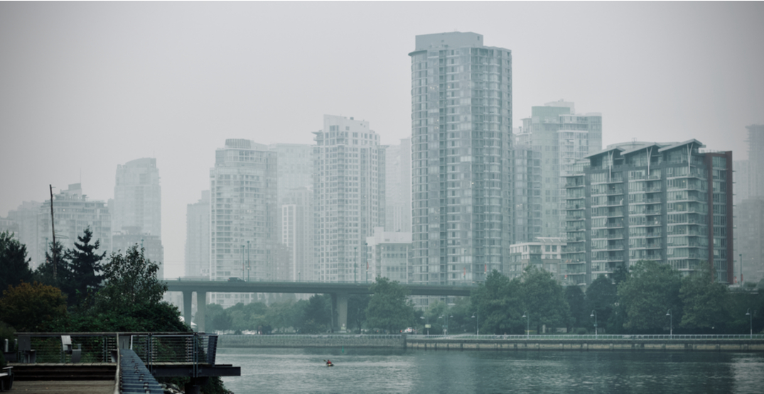 Vancouver air quality currently ranks worst in the world
