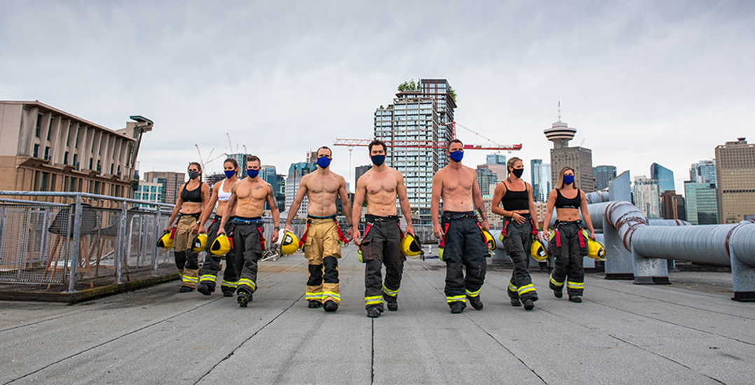"""The 2021 """"Hall of Flame"""" calendar will include male and female firefighters"""