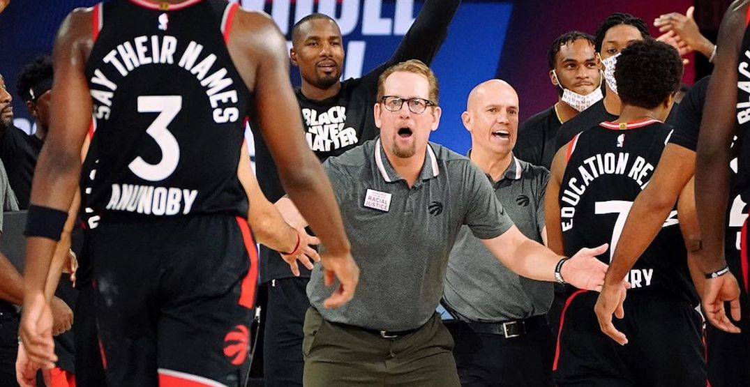 Nick Nurse signs multi-year contract extension as Raptors coach