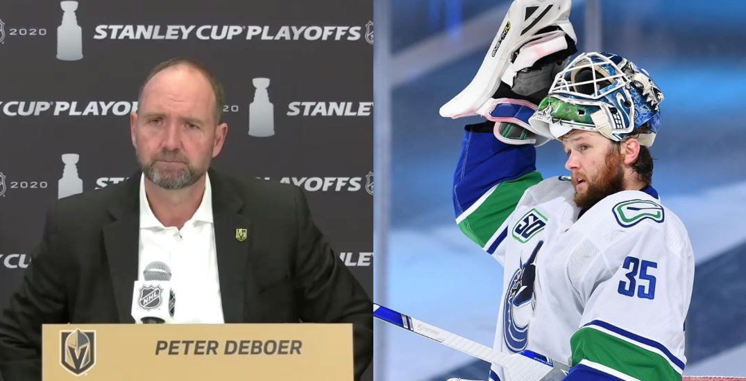 """Demko """"rattled"""" Golden Knights confidence, coach admits after playoff exit"""