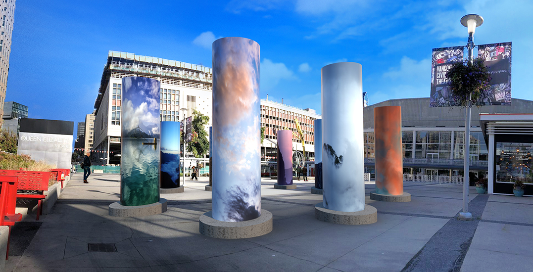 """A stunning """"Sky"""" installation has been revealed in downtown Vancouver"""
