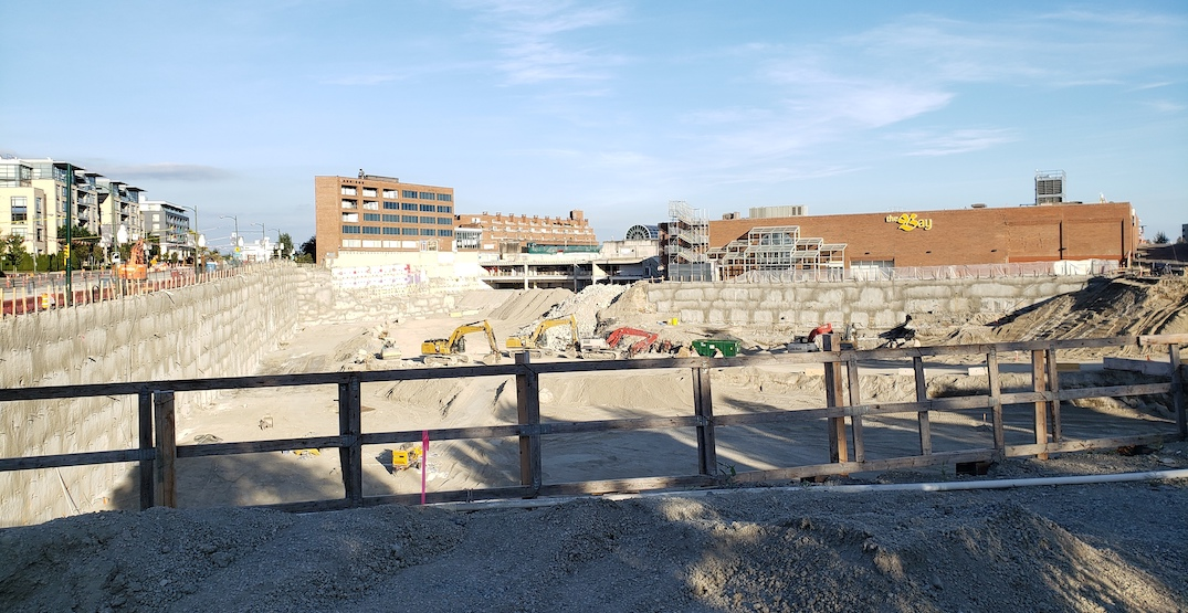 Oakridge Centre redevelopment construction timeline expedited significantly (PHOTOS)