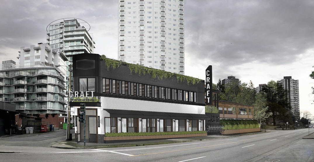 First look at CRAFT Beer Market English Bay (RENDERINGS)