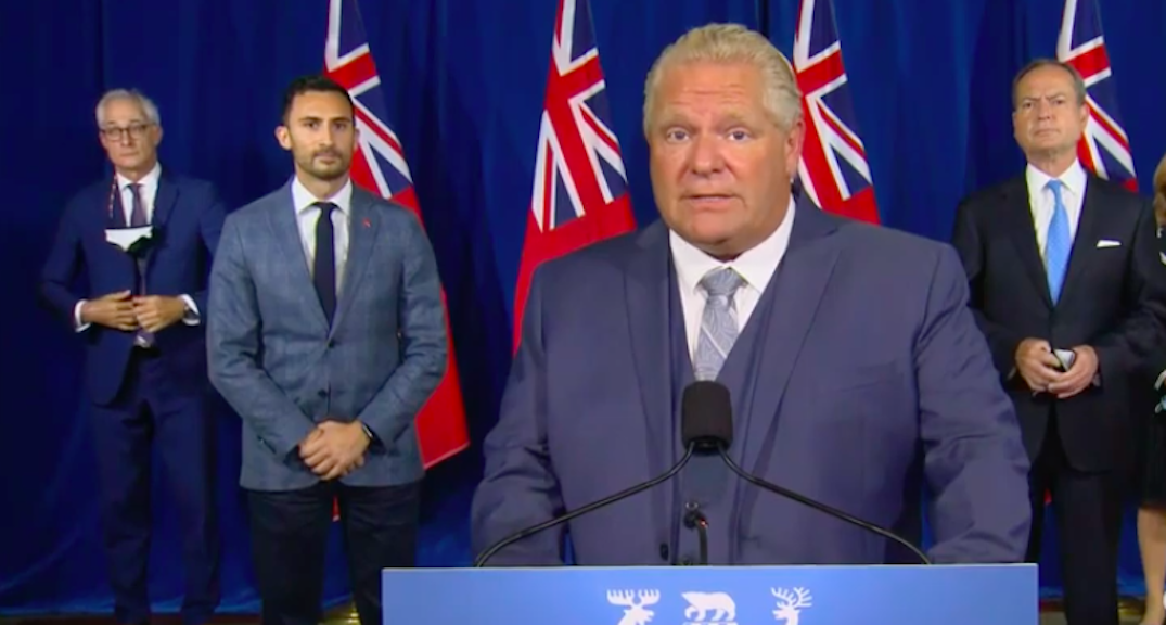 Ford and Lecce to make announcement in Toronto this afternoon