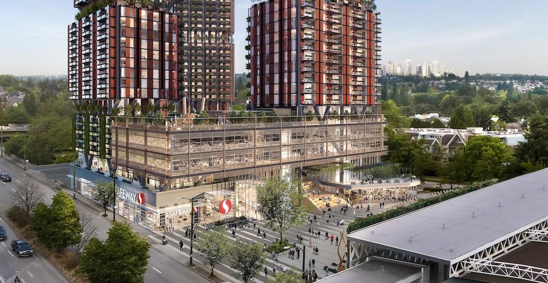 Broadway-Commercial Safeway redevelopment pivots to rental housing (RENDERINGS)