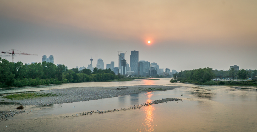 Calgary's air quality expected to worsen by Friday: Environment Canada