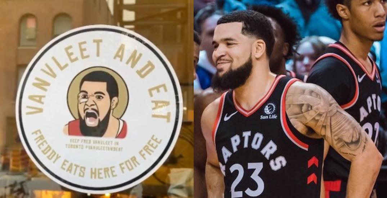 """VanVleet and Eat"": Toronto restaurant wants Fred to re-sign with Raptors"