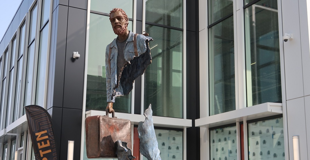 New Van Gogh sculpture unveiled in downtown Calgary (PHOTOS)