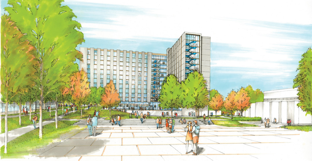 464 student housing beds in mass timber building to be built at BCIT Burnaby