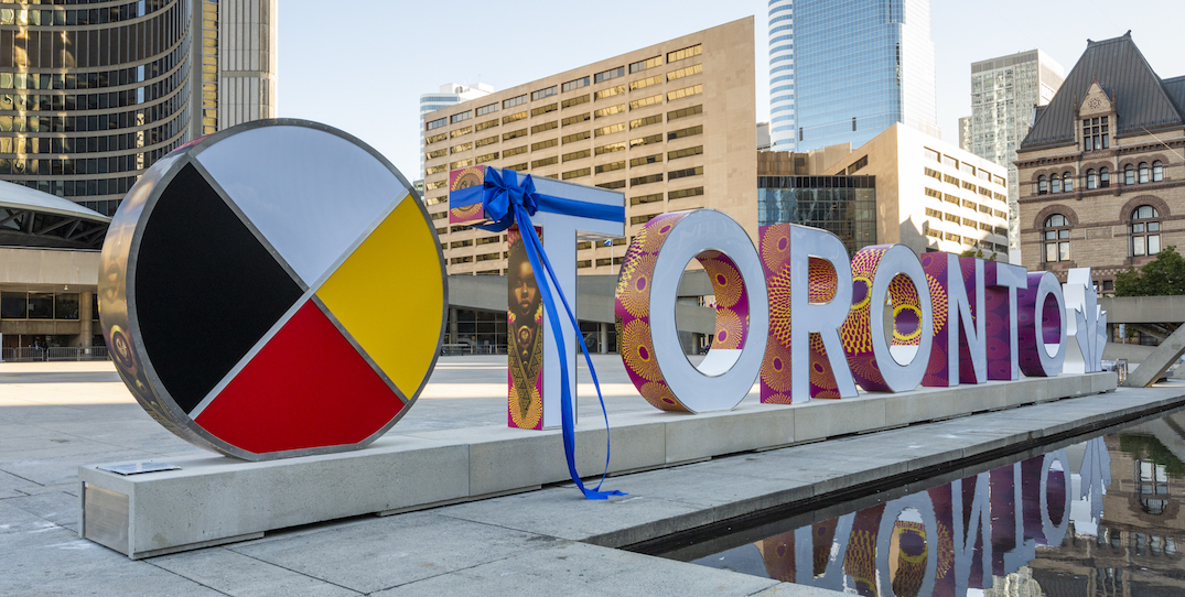 The popular Toronto sign has a new design, here's what it means