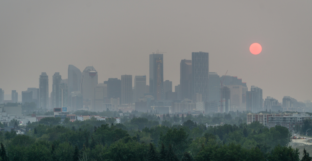 Calgary's weekend weather forecast calling for smoky skies