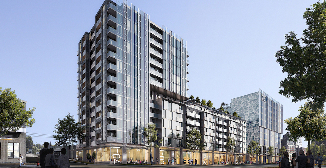 False Creek Flats rental housing with office and industrial begins construction in 2021