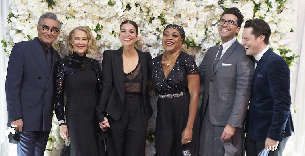Schitt's Creek sets record for most Emmy wins in a comedy's single season