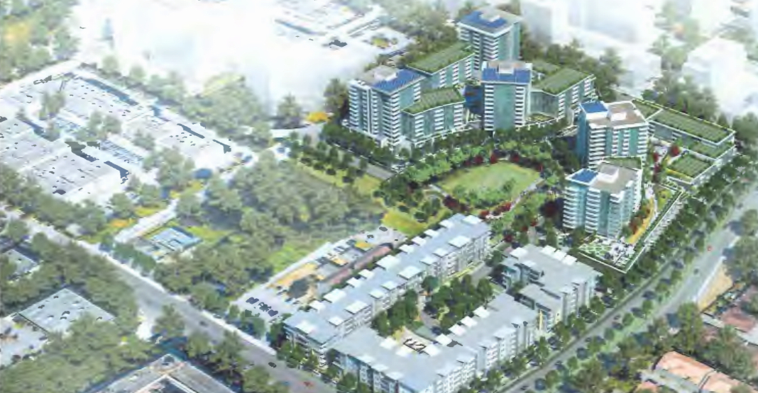 Over 1,200 homes proposed near SkyTrain's future Capstan Station