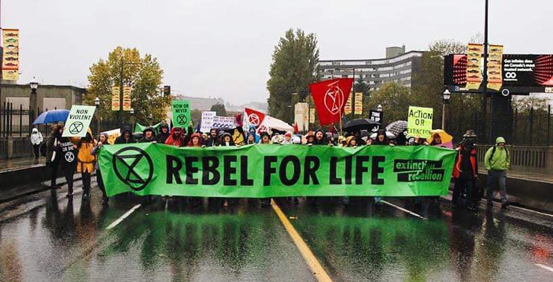 Extinction Rebellion plans to shut down Cambie Bridge on Saturday