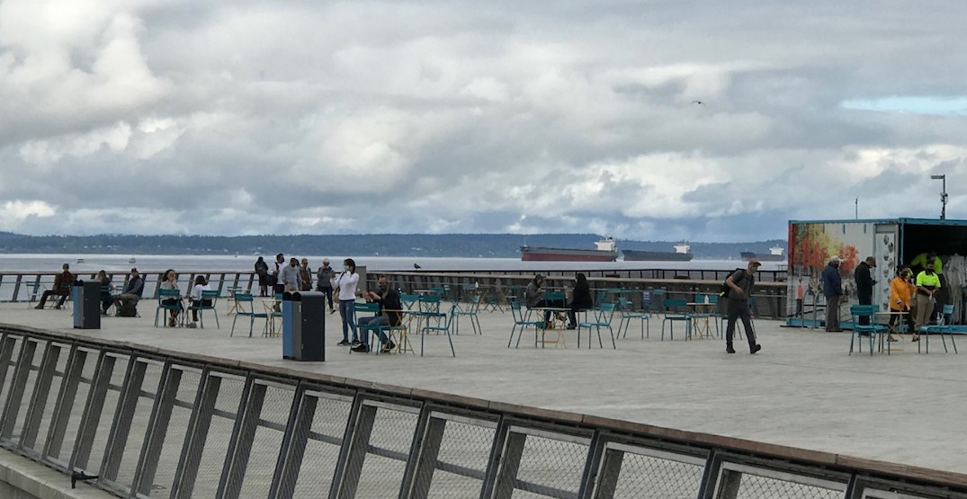 Seattle's newest waterfront public space has finally opened