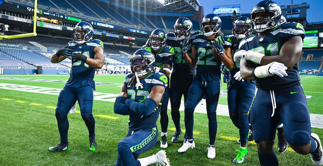 Here's how the Seattle Seahawks kept their home-opening traditions alive this weekend