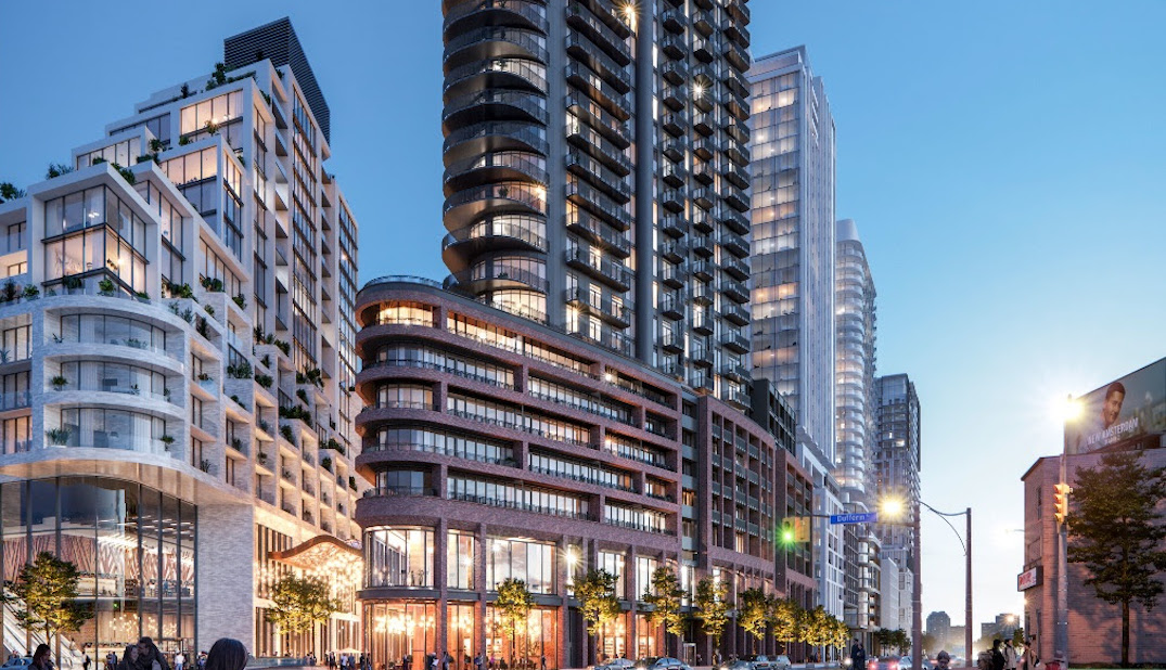 A new flatiron building is coming to Toronto's west end
