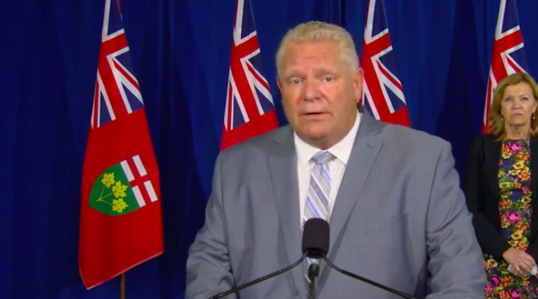 Ford urges everyone to get flu shot as province invests $70M in vaccines