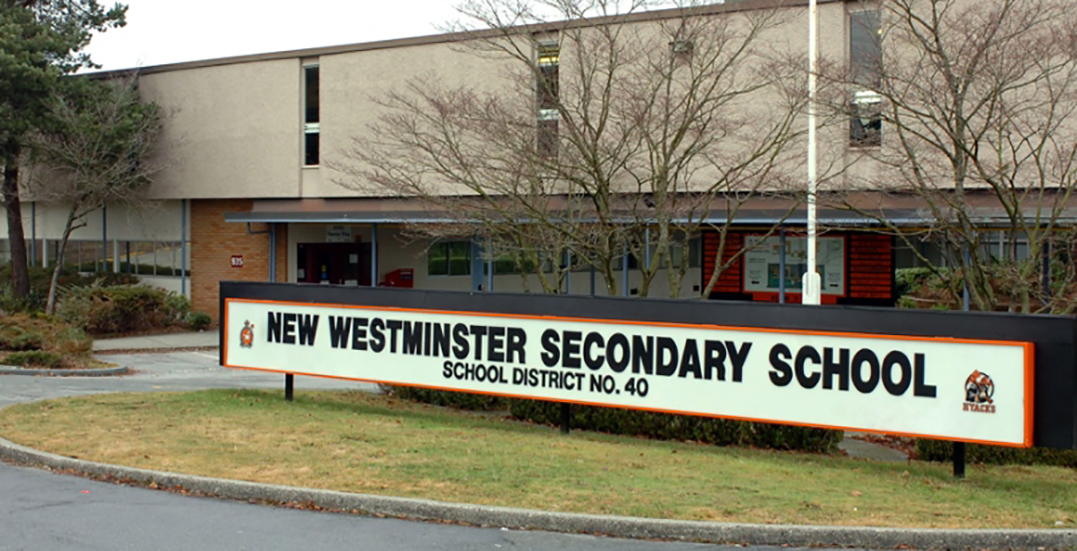 Coronavirus cases identified at two schools in New Westminster