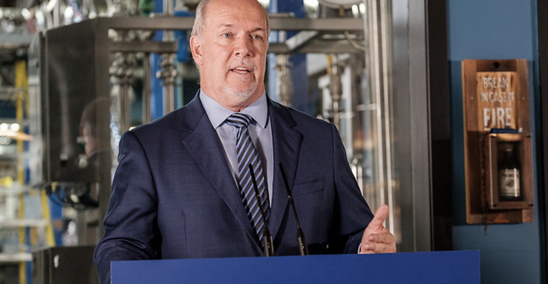 Horgan says his decision to call election started to crystalize in summer