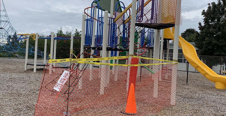 Stolen playground slide found in Burnaby backyard