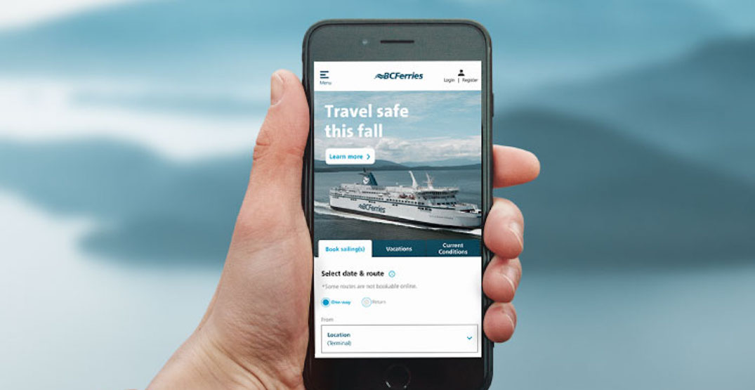 BC Ferries launches new mobile-friendly website