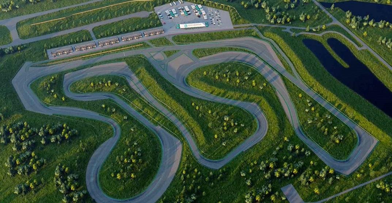 The Rocky Mountain Motorsports track has begun construction