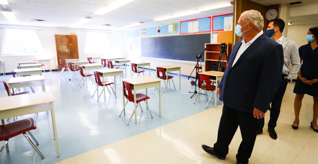 Ford won't hesitate to shut schools again after two closed due to coronavirus