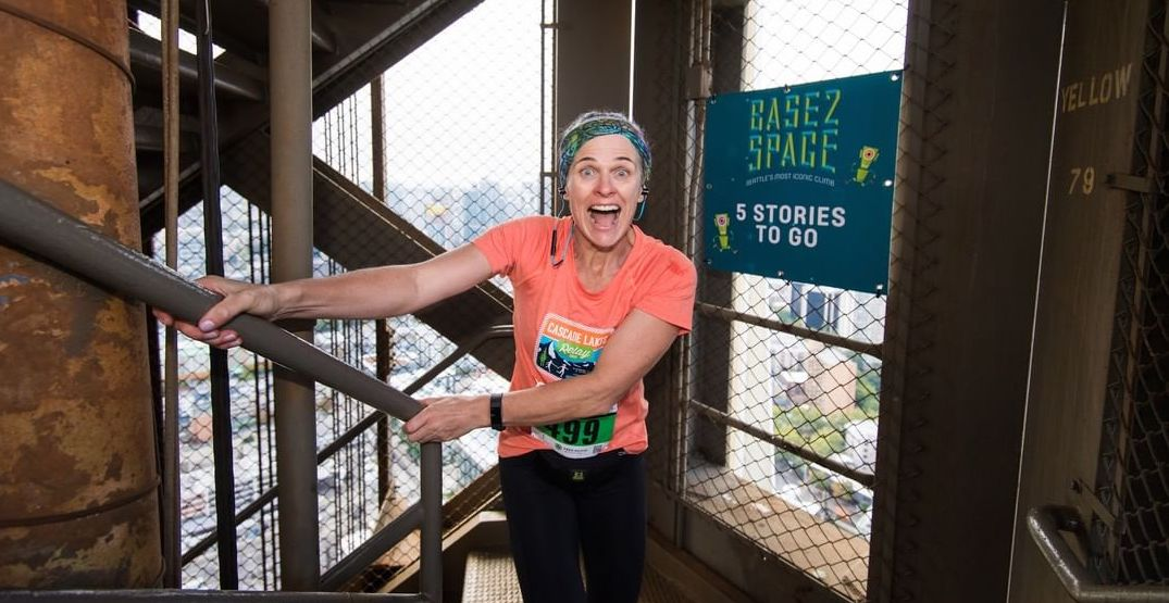 Climb the steps of the space needle for charity this weekend